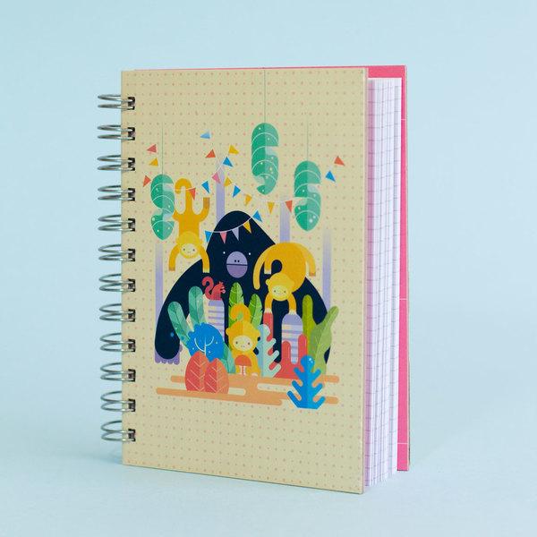 Cuaderno Mono