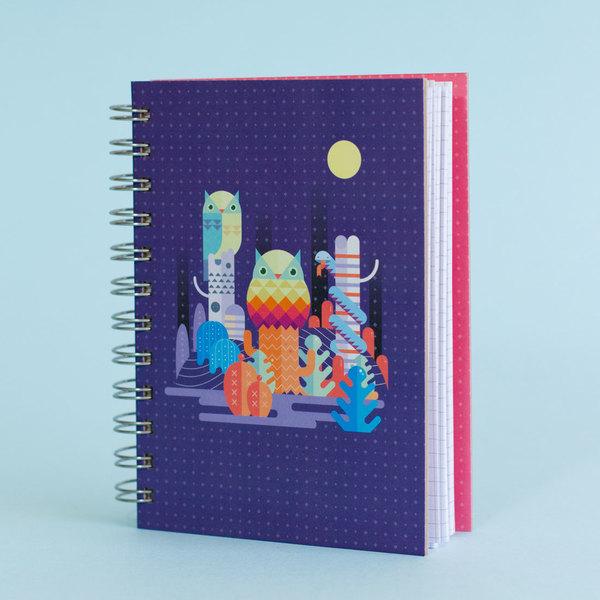 Cuaderno Búho