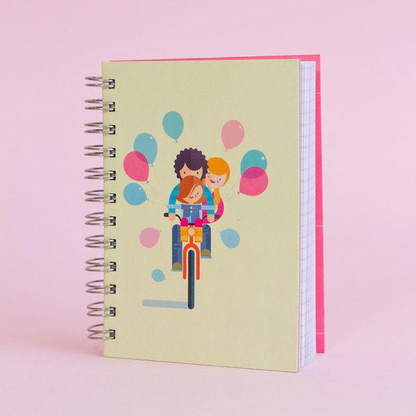 Cuaderno A family ride