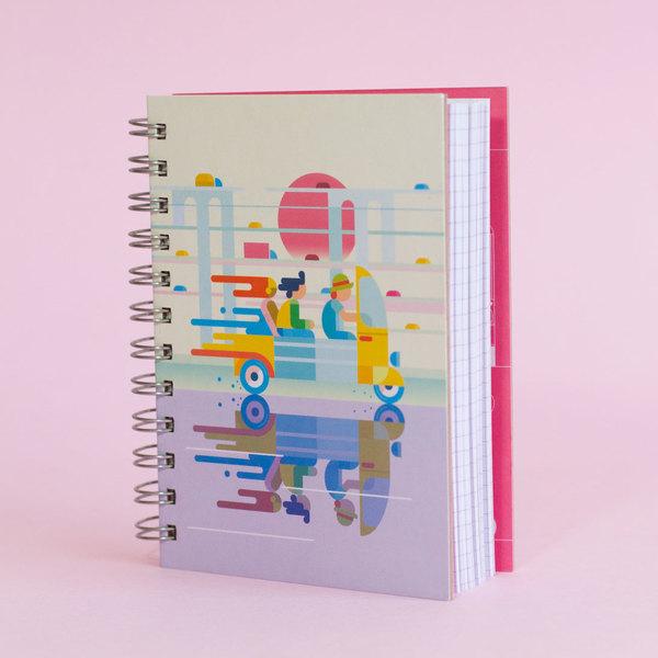 Cuaderno Full speed trip
