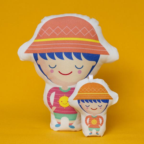 Cojín Niño sombrero