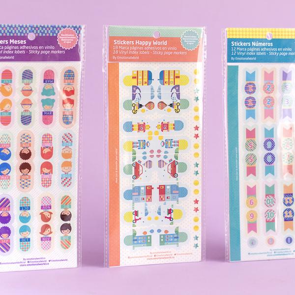 Stickers Marca Páginas