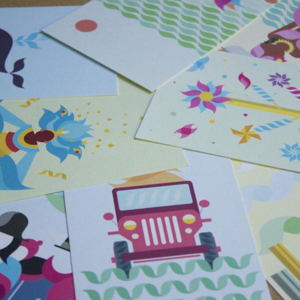 Postales Colombia Imaginada