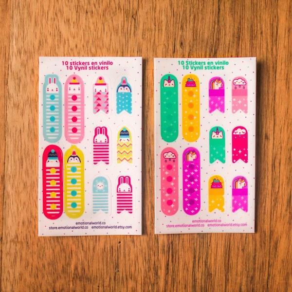 Mini Stickers Lista de Tareas